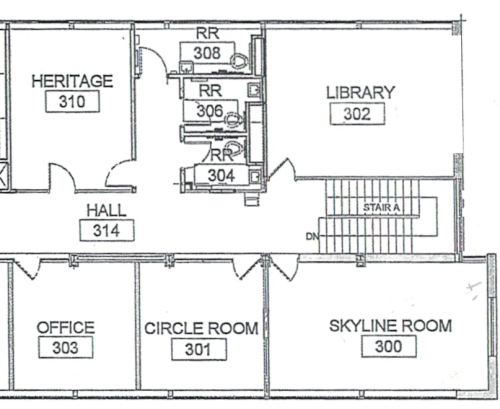 rooms and spaces